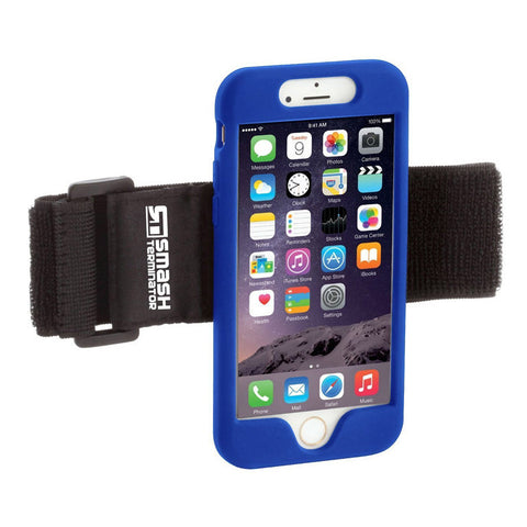 Clip Sports Armband - Blue - Smash Terminator