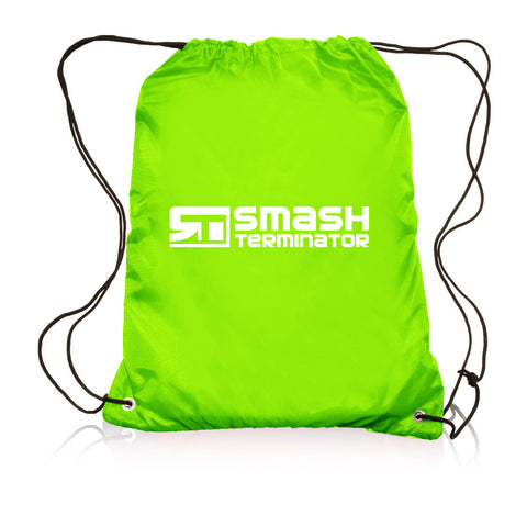 Drawstring Sports Bag (Lime) - Smash Terminator - 1