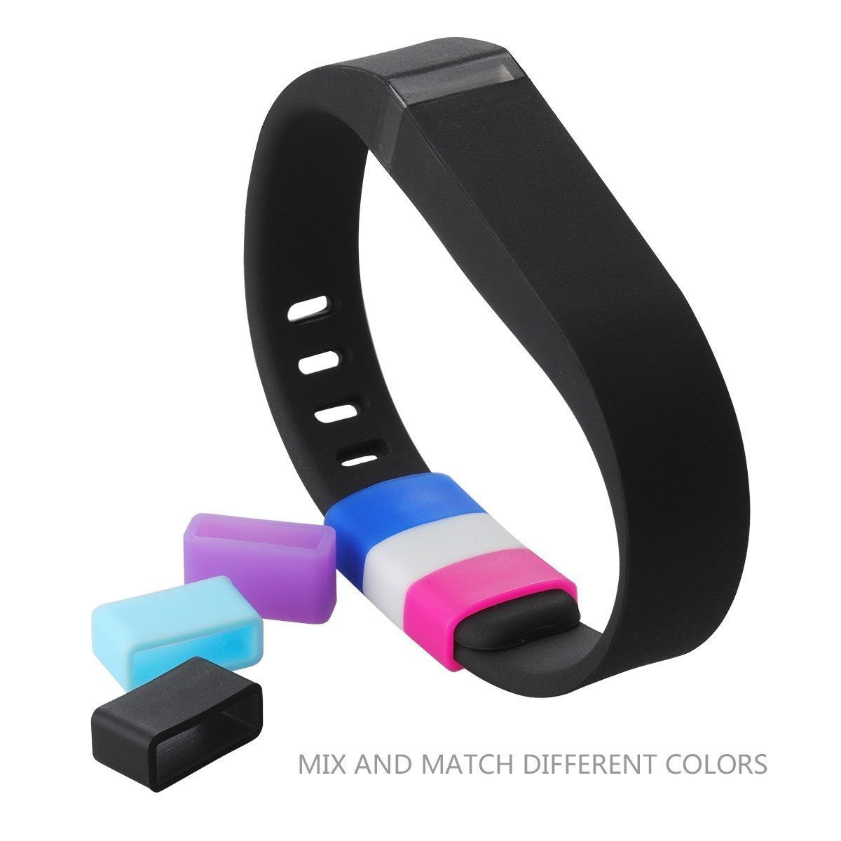Silicone Fasteners For Fitbit Flex & Alta (10 Pack)