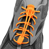 No-tie Speed Lock Laces (Orange) - Smash Terminator - 2