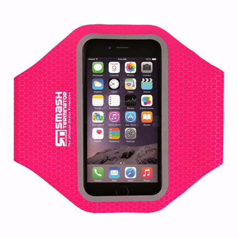 Elite Range Sports Armband - Hot Pink - Smash Terminator - 1