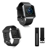 Replacement Watch Strap For Fitbit Blaze (Black) - Smash Terminator - 4