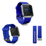 Replacement Watch Strap For Fitbit Blaze (Navy Blue) - Smash Terminator - 4