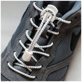 No-tie Speed Lock Laces (White) - Smash Terminator - 2