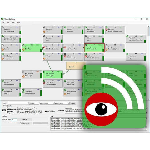 HomeSeer Z-Seer+ Z-Wave Diagnostics Software (Upg from Z-Seer for HS2):HomeSeer Store