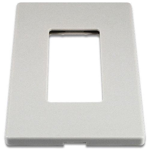 Cooper 9521WS White 1-Gang Screwless Wall Plate