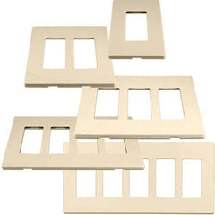 Cooper Aspire Desert Sand (Almond) Screw-less Wall Plates