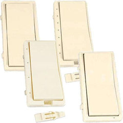 HomeSeer Almond Color Change Kit for Wall Switches, Dimmers & Fan Controllers
