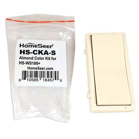 HomeSeer HS-CKA-S Almond Color Change Kit for HS-WS100+ Wall Switch