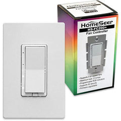 HomeSeer HS-FC200+ Z-Wave Plus RGB Smart Fan Speed Controller Switch - HomeSeer