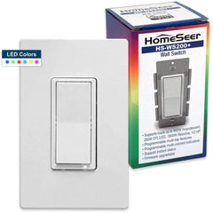 HomeSeer HS-WS200+ Z-Wave Plus RGB Wall Switch - OPEN BOX