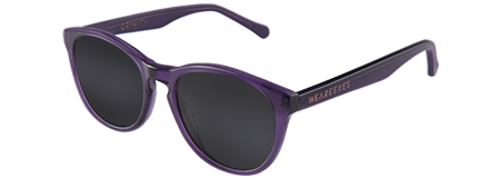 Gravity Purple with Black Lenses