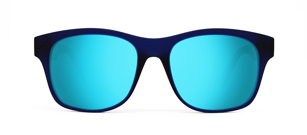 Aer Blue with Blue Mirrored Lenses