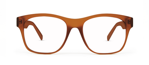 Aer Brown with Blue Blocking Lenses