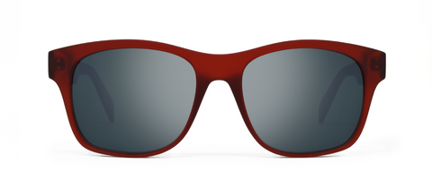 Aer Red with Mirrored Lenses