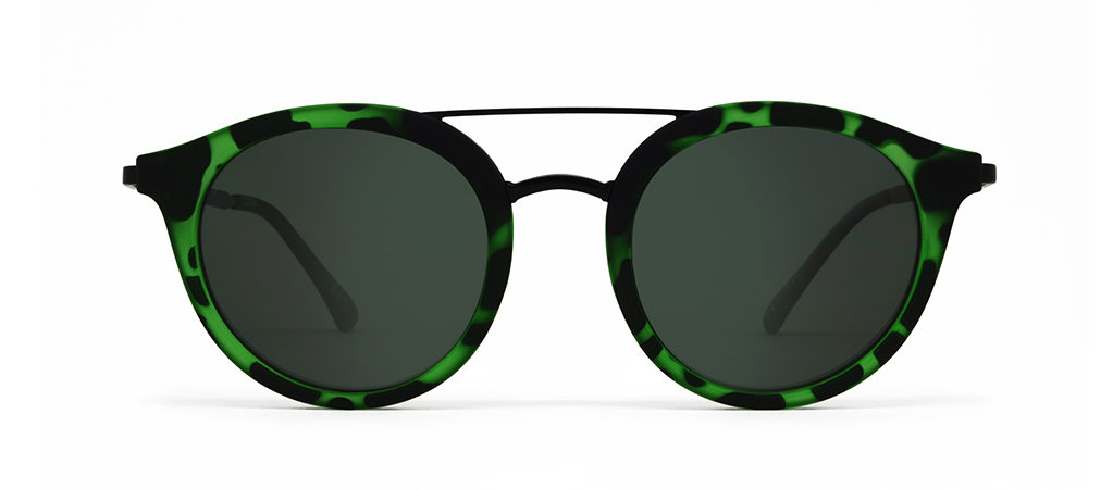 Beta Green Tortoise with Green Lenses