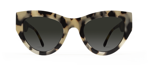 Blaze 2.0 Creme Tortoise with Black Lenses