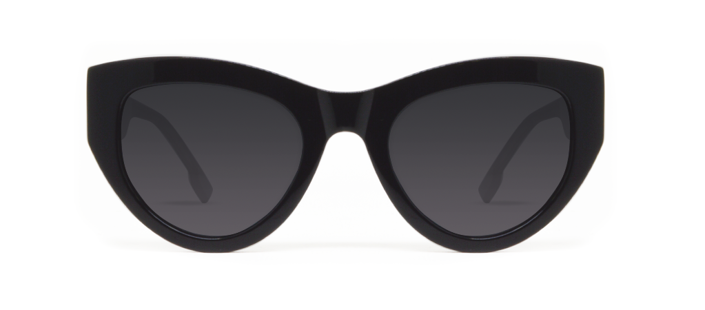 Blaze 2.0 Black Shiny with Black Lenses