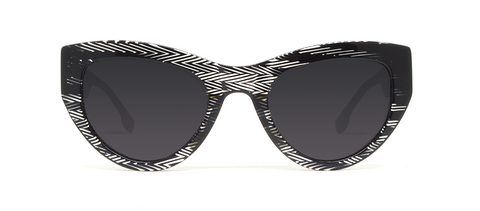 Blaze 2.0 Black Stripes with Black Lenses