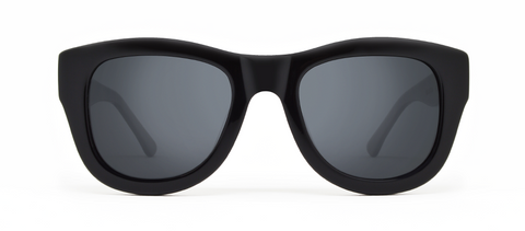 Blaze Black with Grey Mirrored Lenses