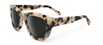 Blaze Crème Tortoise with Grey Light Mirrored Lenses