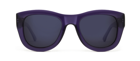 Blaze Purple with Black Lenses