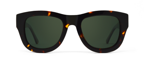 Blaze Crystal Tortoise with Green Lenses