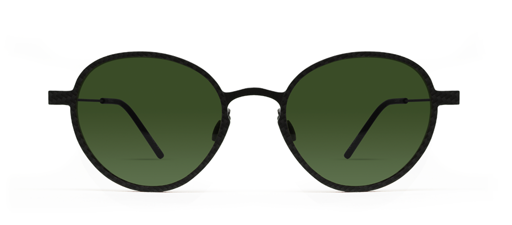 Carbon 12s with Green Lenses