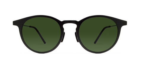 Carbon 14s with Green Lenses
