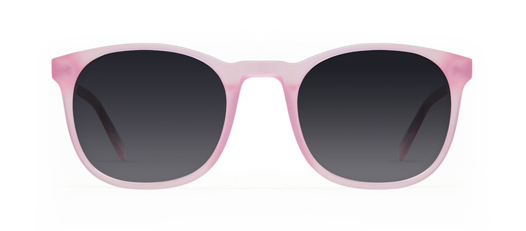 Delta Pink with Black Lenses