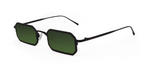 Gamma 2.0 Black with Green Lenses
