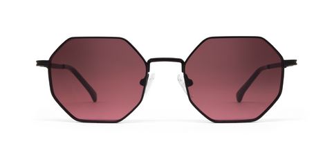 Gamma Black with Pink Lenses