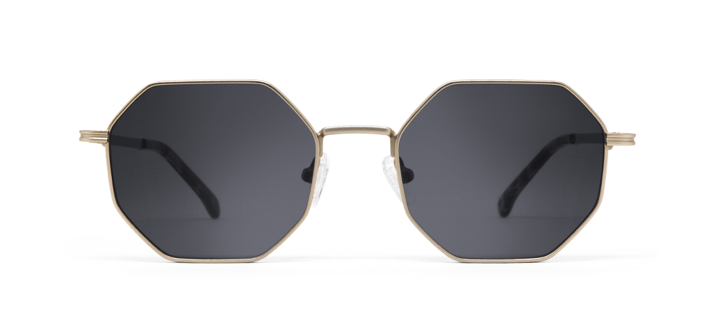Gamma Gold with Black Lenses