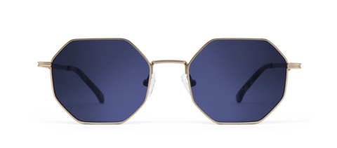 Gamma Gold with Blue Lenses