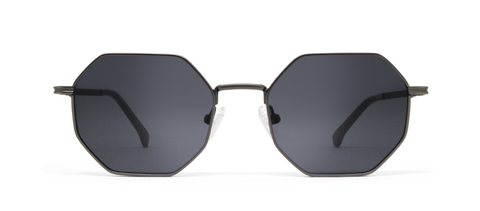 Gamma Gun Metal with Black Lenses