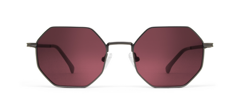 Gamma Gun Metal with Pink Lenses