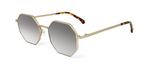 Gamma Gold with Silver Mirror Lenses