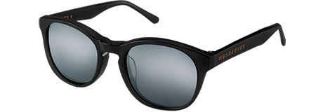 Gravity X Black with Grey Mirrored Lenses