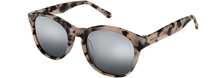 Gravity X Crème Tortoise with Grey Mirrored Lenses