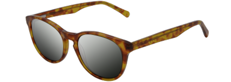 Gravity Amber with Grey Mirrored Lenses