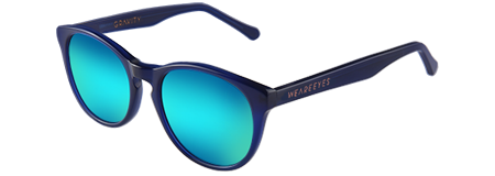 Gravity Blue with Blue Mirrored Lenses