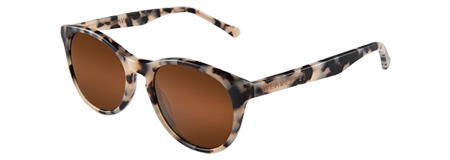 Gravity Crème Tortoise with Brown Lenses