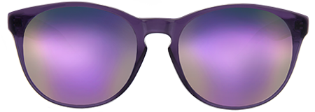 Gravity Purple with Purple Mirrored Lenses