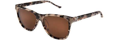 Grit Crème Tortoise with Brown Lenses