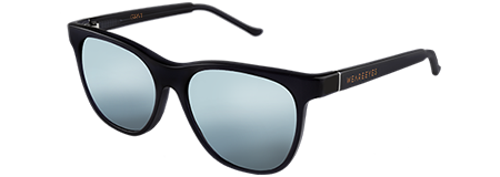 Grit Black with Grey Mirrored Lenses