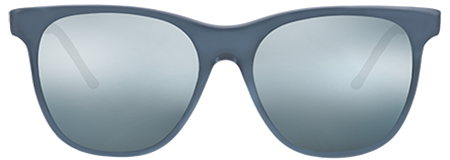 Grit Grey with Grey Mirrored Lenses