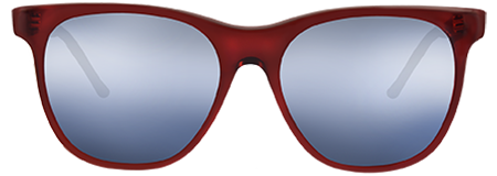 Grit Red with Grey Mirrored lenses