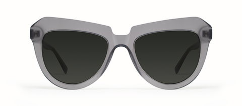 Iota Grey with Black Lenses