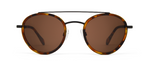 Kappa Havana Tortoise with Brown Lenses