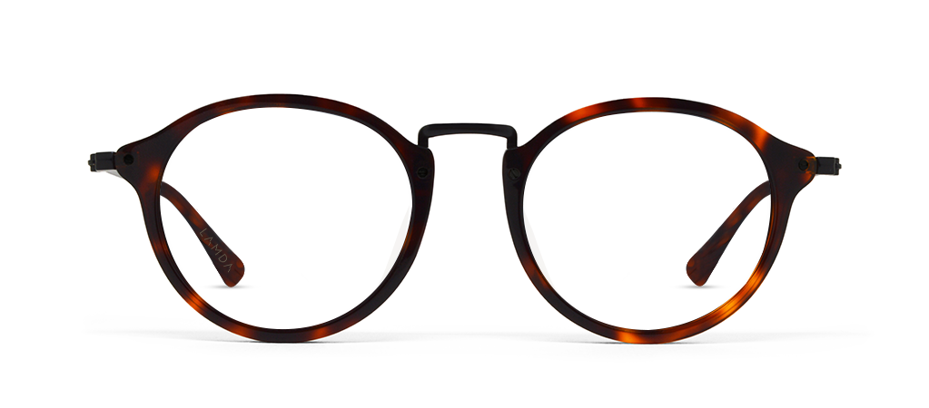 Lamda havana tortoise with Blue Blocking Lenses